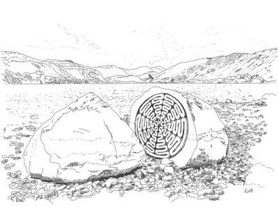 100 Year Stone Derwentwater