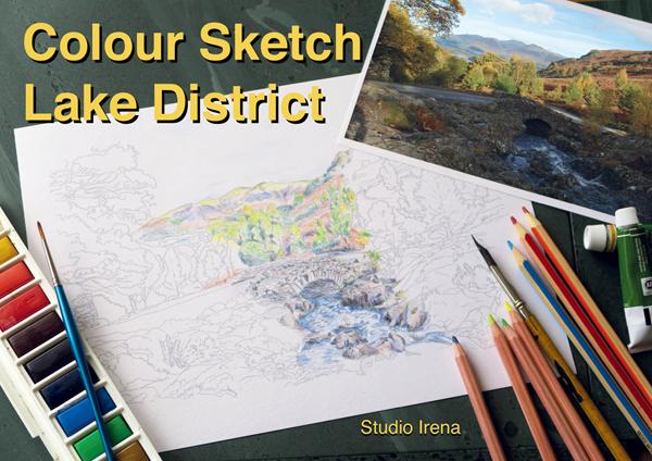 Colour Sketch - Lake District