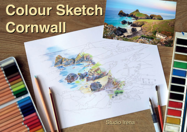 Colour Sketch - Cornwall