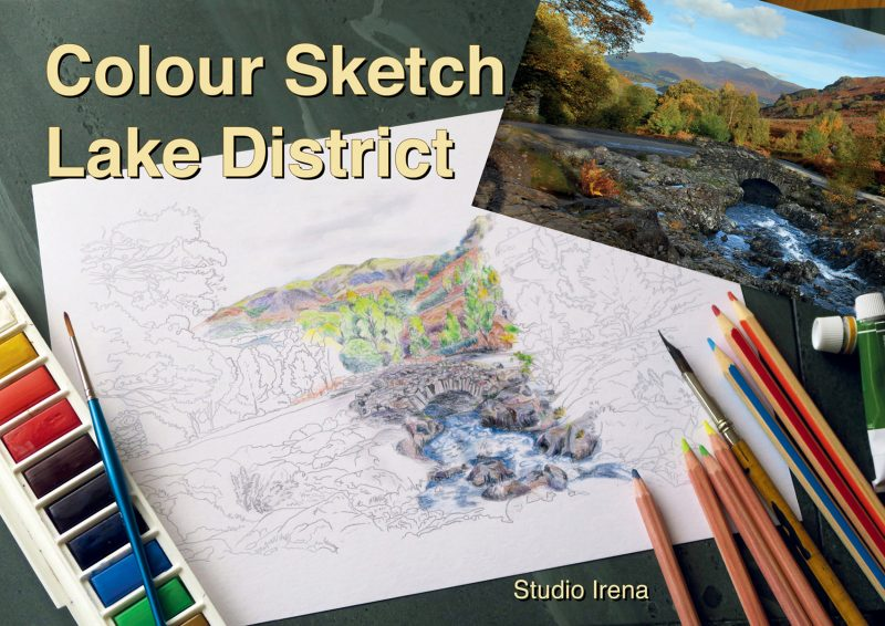 Colour Sketch Lake District front cover