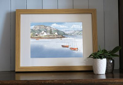 Print of Plockton, Scotland