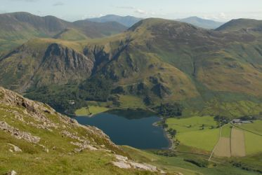 Robinson and Buttermere from High Crag