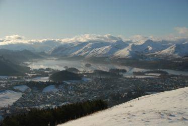 Winter over Keswick